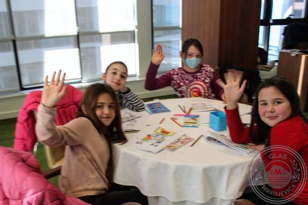 Upješno počela besplatna zimska radionioca stranih jezika za djecu!