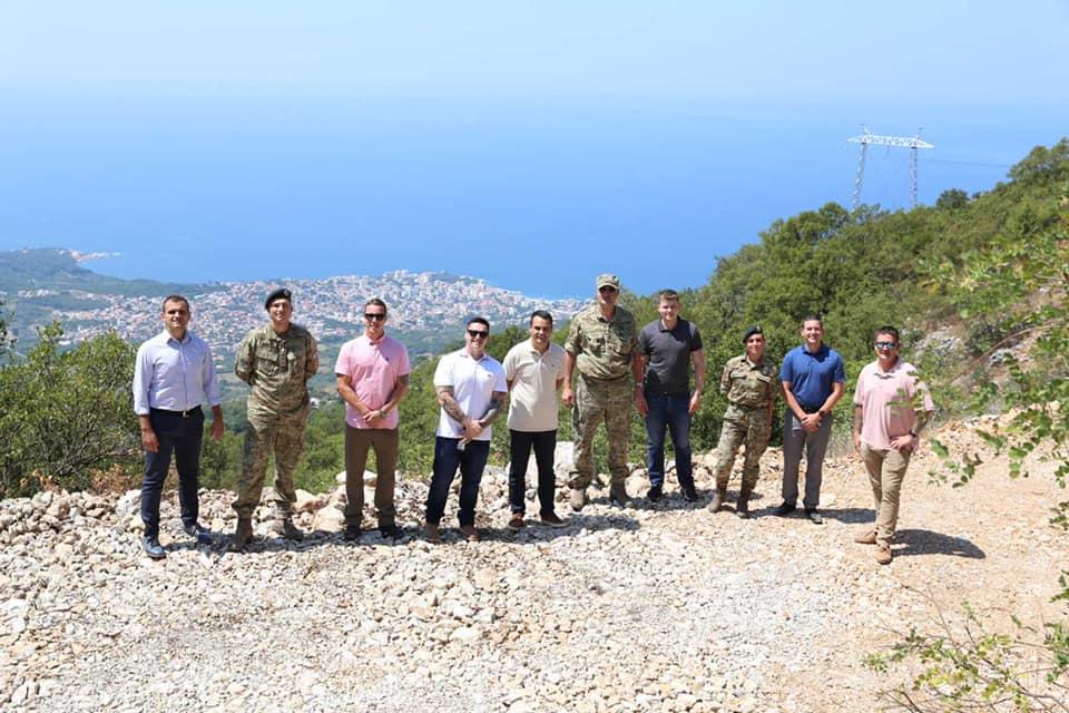 Delegacija Vojske SAD i Vojske Crne Gore juče u Lunjićima