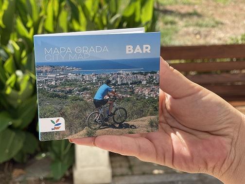 Nova turistička mapa grada Bara izašla iz štampe
